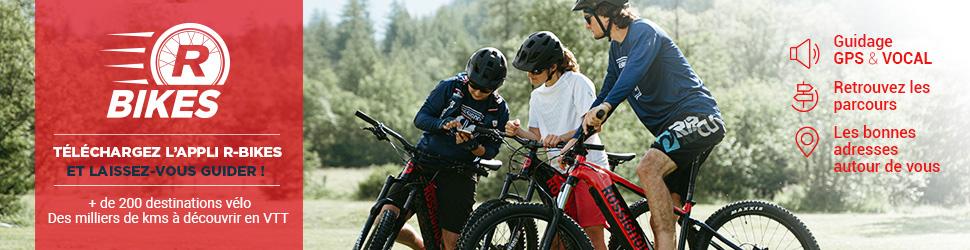 Retrouvez les sites VTT-FFC sur le site web et l'appli de notre partenaire R-Bikes !